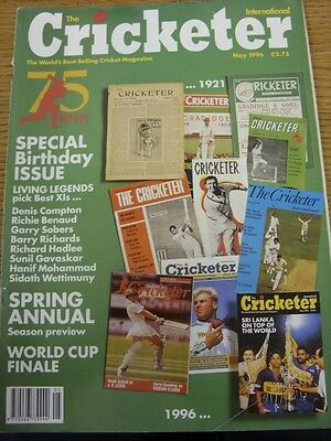 May-1996 The Cricketer International Magazine: Vol 077 No 05 (1996 Spring Annual