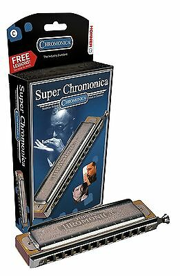 NEW! Hohner Super Chromonica 270BX-C Chromatic Harmonica Key C