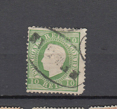 A very nice Portugal 1870 High Cat Value 10R Green issue
