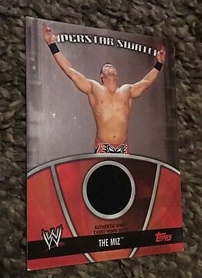 WWE Topps 2010 The Miz Shirt Relic Card
