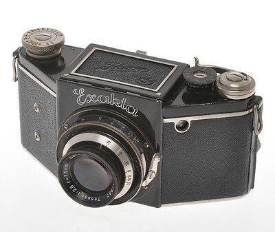 Ihagee Exakta VP B Type 4.1(?) with 75/2.8 Tessar, missing shutter relase