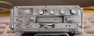ANTIQUE /////ALPINE AUTO CASSETTE PLAYER Hard To Find COLLECTIBLE MOST FUNCTIONS