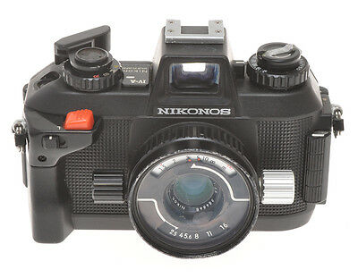 Nikonos IV-A with 35/2.5 Nikkor, exc+ not in working order sold as is