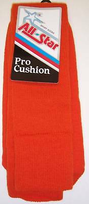 All Star AP-26 Pro Cushion Team Socks Size 10-15 ORANGE 1 DOZEN PAIRS team Pack