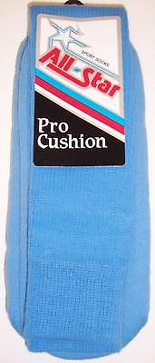 AllStar AP-26 ProCushion Team Socks Size 10-15 COL.BLUE 1 DOZEN Pairs Team Pack