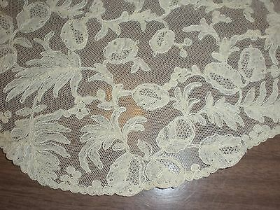 Antique French Princess net lace placemats and tea cup coasters set