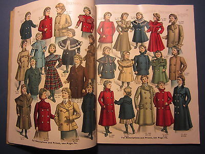 Old Vintage 1901 - NUGENT'S Fashion CATALOGUE - Clothing - St. Louis MO.