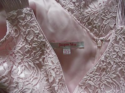 JACQUES VERT PINK Lace Dress Suit Mother of the Bride Wedding Plus Size 20
