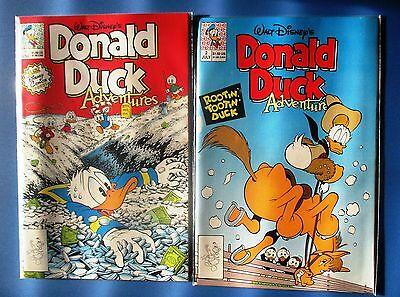 DONALD DUCK ADVENTURES 1-37 complete run (Disney Comics 1990 Carl Barks Don Rosa
