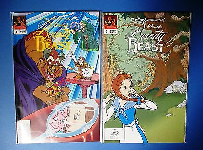 NEW ADVENTURES OF BEAUTY AND THE BEAST 1-2 (Disney Comics, Belle) 1992