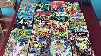 DC Comics  Series Lot of (36) Issues Action Comics Superman Nice Condition