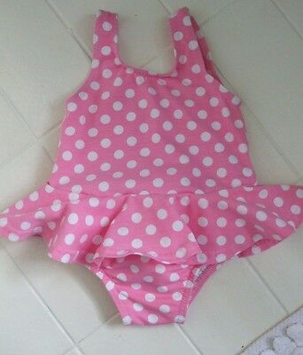 New.Mini-Boden.Super cute skirted swimsuit.Age 3-6 months.