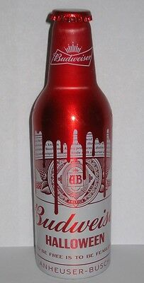 Chinese Budweiser Aluminum Beer Bottle #7 - 2016 Wuhan Brewery China 355ml