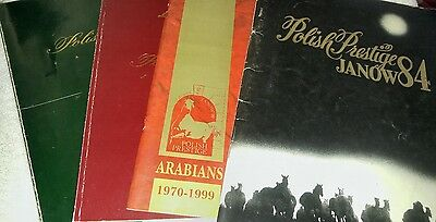 Pride of Poland National Arabian Sale 4 years programs '90s (English lang.)