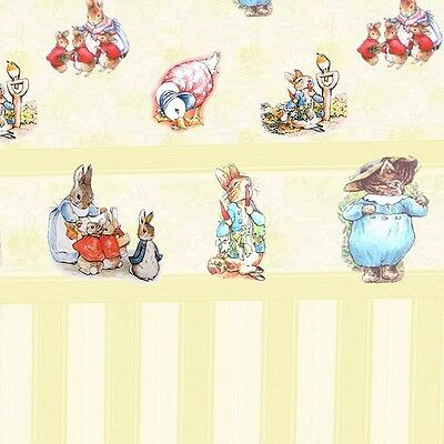 3 sheets of Dolls House Wallpaper 1/12th scale Cream Nursery Quality Paper #136