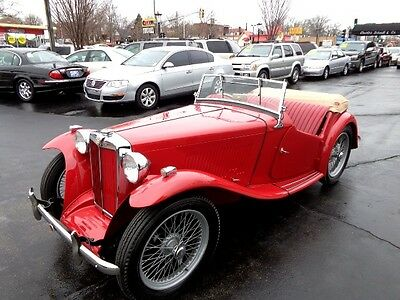1949 MG T-Series MG-TC EXU 1949 MG-TC EXU Roadster - Frame off Restoration