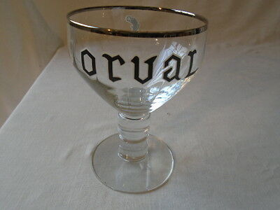 Orval  Trappistes   Verre  Abbaye  D'orval