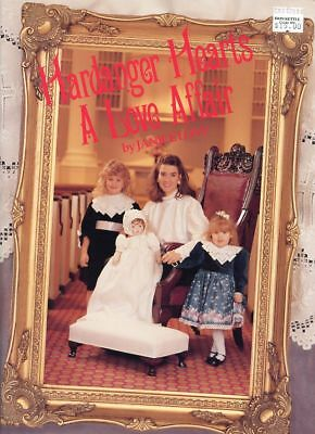 Hardanger Hearts a Love Affair by Janice Love NEW Pattern Leaflet RARE HTF