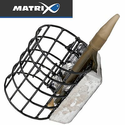 Fox Matrix Mini Swivel Caged Feeders Feeder Feederkorb 1 Futterkorb