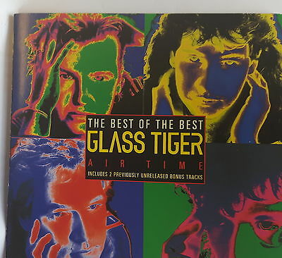Glass Tiger – The Best Of CD Canadian Unreleased Songs AOR/Melodic Rock
