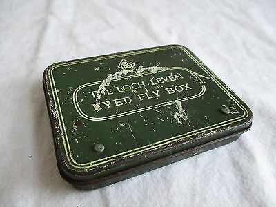 Vintage Fly Tin - The Loch Leven Eyed Fly Box & Flies - Richard Wheatley