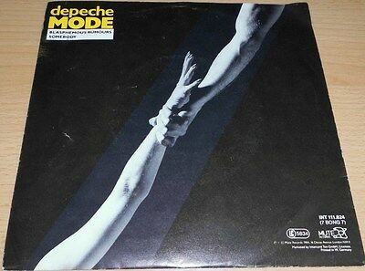 "Depeche Mode - Somebody (Remix) > 7""Single > Mute/Intercord > 7 Bong 7 > 1984"