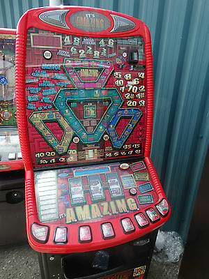 It's Amazing Fruit Machine, £70 Jackpot, Accepts New £1 Coin