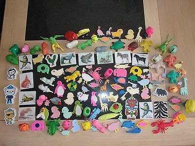 Huge collection of Rare Vintage erasers/ Rubbers (animals)