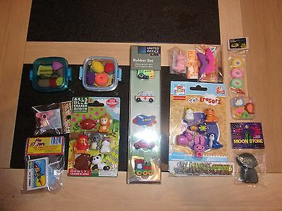Rare Vintage Erasers/ Rubbers