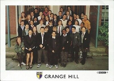 Grange Hill Cast Card From Series 21 1998