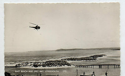East Beach And Spey Bay , Lossiemouth - Helicopter