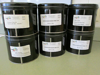 6 - 5# Cans Van Son Printing Ink, Assorted Colors, Free Shipping*