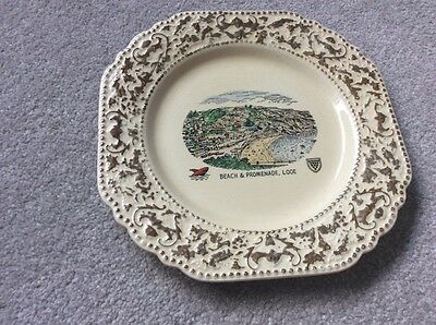 lord nelson pottery staffordshire plate