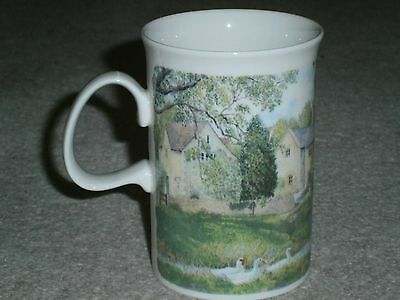 "Beautiful Dunoon ""burford"" Mug By Richard Partis Country Scenes Excellent Cond"