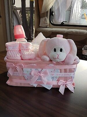 baby girl hamper basket
