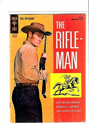 The Rifleman  # 14  1963  Gold Key Western Comic