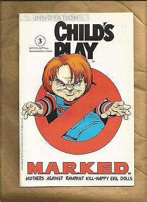 Child's Play the series issue 3 1991 VFN/NM Chucky Innovation US Comics
