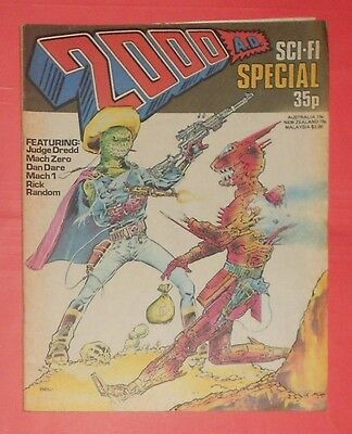 2000 Ad ,sci-Fi Summer Special , 1978 , Judge Dredd, Dan Dare.