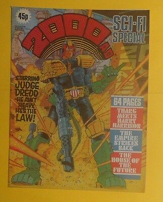 2000 Ad ,sci-Fi Summer Special , 1980 , Judge Dredd, Dan Dare.