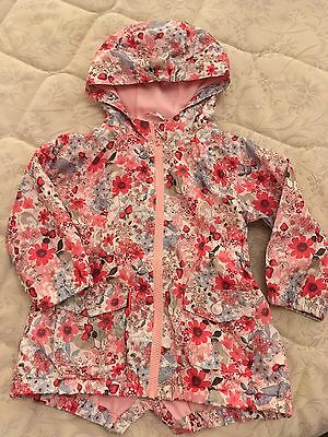 Girls Age 2-3 Yrs Next Floral Jacket Summer