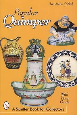 Vintage Quimper French Pottery Collector Reference Faience Henriot Etc w Prices