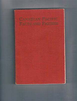 Canadian Pacific Facts And Figures Book  (1937 Gazette Printing)  2X Signed