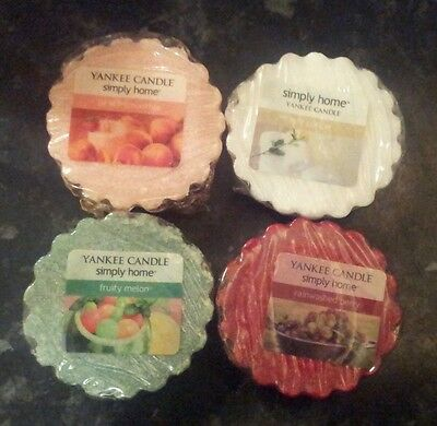 Yankee Candle Wax Tart Melts Bundle Simply Home Retired