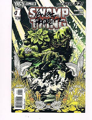 Swamp Thing #1 (2011 Series) Signed By Artist Yanick Paquette (New 52) 1St Print