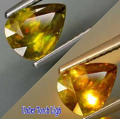 Natural Earth Mine Sphene Untreated Loose Gemstone Of The Highest Quality 1.18CT