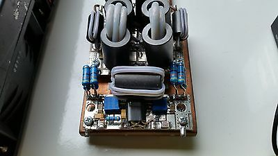 500W + HF 1.8-54MHz Amplifier water-cooled 2X VRF2933
