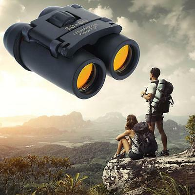 Hot Day Night Vision Outdoor Folding Binoculars Telescope + Case 30 x 60 Zoom B2