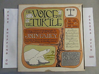 John Fahey The Voice Of The Turtle Orig 1968 Stereo Lp W/ Booklet Takoma C-1019
