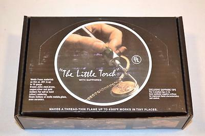 The Little Torch Jewelers Mini Torch w Tips  NEW IN BOX