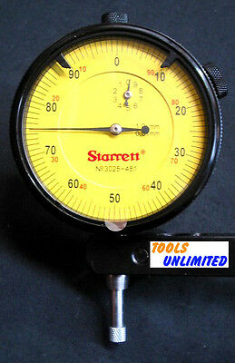 Starrett Professional 0 - 10mm Dial Gauge in Protective Case           3025-481